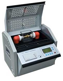 Oil breakdown voltage(BDV) tester
