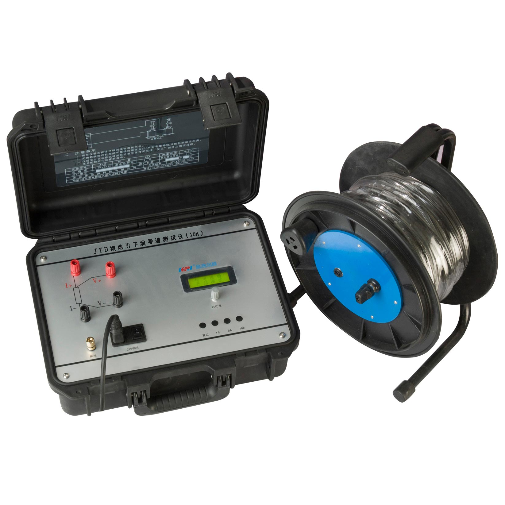 JYD-10A earthing resistance tester
