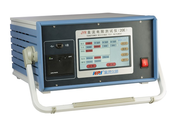 JYR-20E Temperature rising winding resistance tester - 副本