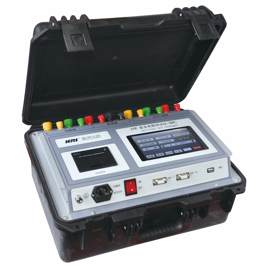 JYR40S/50S three-phase winding resistance tester