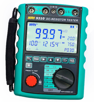 transformer DC winding resistance tester