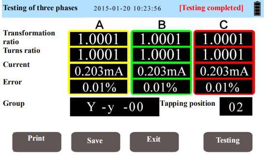 JYT-A turn ratio tester
